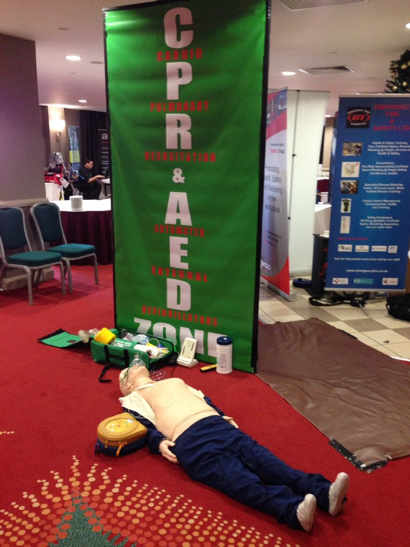 CPR and AED at the Smart Show Belfast