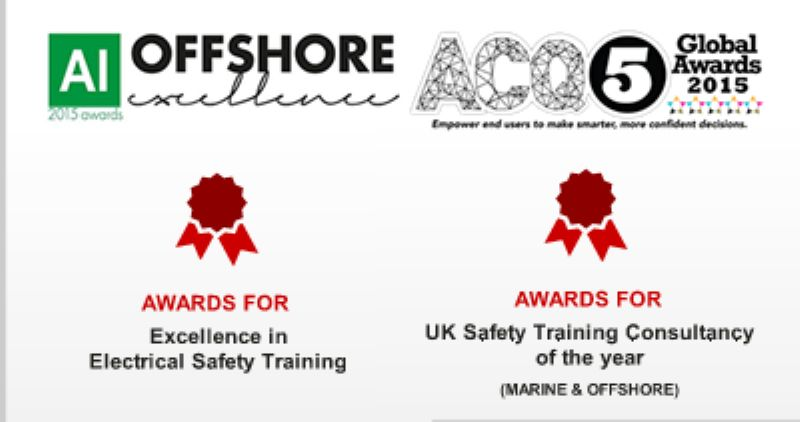 "Emergency Fire & Safety Ltd has been awarded the ""Excellence in Safety Training"" and Global winners of 'Rescue Team of the Year' Award"